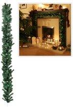Guirlande dennen  Kerstslinger met 20 LEDs - 270 cm | Kerst Verlichting| Kerstverlichting | Warm Led - Wit - Werkt op batterijen - Draadloos