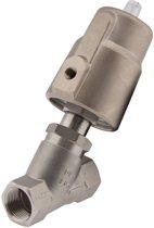 G1-1/4'' PTFE 25bar NO Pneu Vrijstroomafsluiter RVS/Ms AL2 - AL2B-SPP-114-A