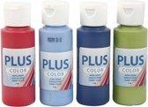 Plus Color Acrylverf London, 4x60 ml