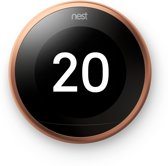 Google Nest Learning Thermostat - Slimme thermostaat - Koper