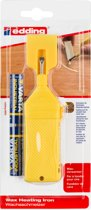 Edding 8903 was-smelttoestel t.b.v. houten vloeren-reparatiewas-set