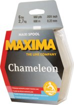 Maxima Chameleon Maxi Spool Vislijn - 0.30 mm - 4.5 kg