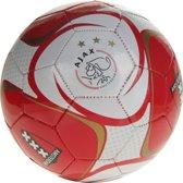 Ajax Bal Amsterdam Schild - Rood/Wit