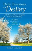 Daily Devotions for Destiny