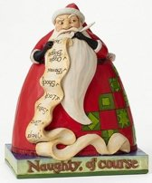 Jim Shore Disney Traditions Sandy Claws uit de film Nightmare before Christmas nr. 4046031