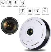 TKSTAR 360 Mate Vissenoog Panoramic 2-Weg Audio 2.4G WIFI P2P IP Veiligheid Camera Nachtzicht Bewegingsdetectie Gratis APP