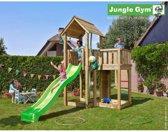 Jungle Gym Speeltoren met Glijbaan (lichtgroen) Mansion
