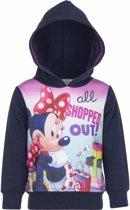 Minnie Mouse sweater navy voor meisjes 128 (8 jaar)