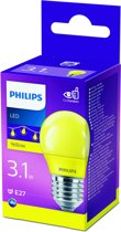 Philips - LED lamp - E27 - 3,1W - Geel