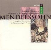 Mendelssohn: Symphony no 4, A Midsumer Night's Dream, etc