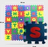 Puzzelmat - 36-Delige speelmat - Foam letter puzzelmat veilig voor kinderen