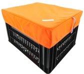 Box M Oranje voor Kerri Fietskrat
