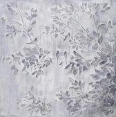 Olieverfschilderij - Grijze bladeren