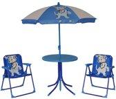 Patio set voor kinderen - Blauw
