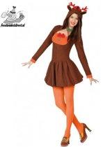 Kostuum Rendier vrouw-Maat:M-L
