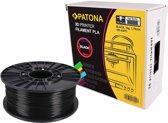 PATONA 1.75mm black PLA 3D printer Filament
