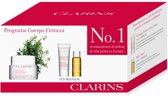 3 delige cadeau set Clarins Extra Firming Body Cream 200ml + Gommage Exfoliant Peau Neuve 30ml + Huile Tonic 10ml