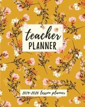 Teacher Planner: Lesson Planner for Teachers Weekly and Monthly - Academic Year Lesson Planner for Teachers and Homeschoolers with Blos