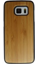 Samsung Galaxy S7 hoesje met bamboe houten achterkant