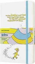 Moleskine Dr Seuss White Limited Edition Notebook Large Ruled