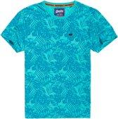 Superdry T-shirt print Turquoise (M10114YT - OK6) - M