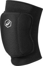 Asics Basic Kneepad 146814-0904, Unisex, Zwart, Kniebeschermers maat: XL