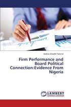 Firm Performance and Board Political Connection