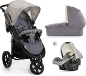 Hauck Viper SLX Trio Set - Kinderwagen - Smoke/Grey