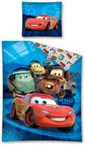 Disney Cars - Dekbedovertrek - Eenpersoons - 140x200 cm - Blauw