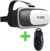 VR BOX VR Bril + Bluetooth Gamepad en Remote Control - Black