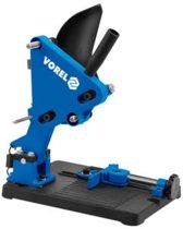 VOREL Haakse slijperstandaard blauw metaal 79641