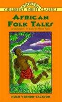 Boek cover African Folk Tales van Hugh Vernon-Jackson (Paperback)