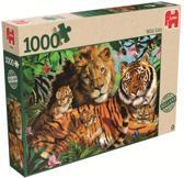 Wilde Katten Puzzel 1000 Stukjes