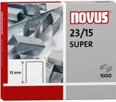 nietjes Novus 23/15 super doos à 1000 stuks
