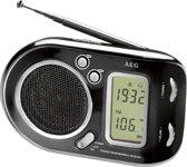 AEG WE 4125 Persoonlijk Digitaal Zwart radio