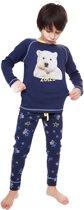 Zoïzo pyjama jongens - blauw - icebear - maat 164