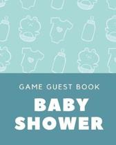 Baby Shower Game Guest Book