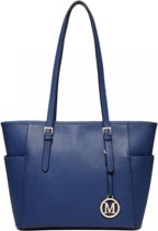 Miss Luly handtas blauw LM1642-1 NY