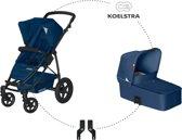 Koelstra Binque Daily Combi Kinderwagen - Marine Blauw