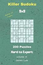 Master of Puzzles - Killer Sudoku 200 Hard to Expert Puzzles 9x9 Vol. 14