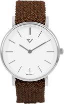 Prisma Unisex P.1625.WG24 horloge Cognac nylon 5 ATM