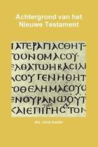 Achtergrond van het nieuwe testament