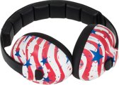Banz - Baby Earmuffs Design Stars & Stripes - (0-3 jaar)