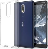 Nokia 5.1 Transparant TPU Hoesje