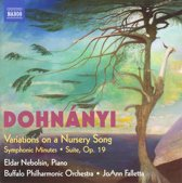 Variations On A Nursery Song, For Piano And Orchestra, Op.25