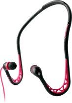 PURO IPHFSPORT4PNK Zwart, Roze Intraauraal Neckband koptelefoon