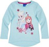 Disney-Frozen-T-shirt-met-lange-mouw-turquoise-maat-104