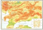 Kaart Atlas van het bijbelse continent - De openbaring van Johannes