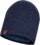 Buff Knitted & Polar Unisex Muts - Night Blue - One Size