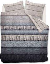 Beddinghouse Wigmore Dekbedovertrek - Flanel - Tweepersoons - 200x200/220 cm - Naturel